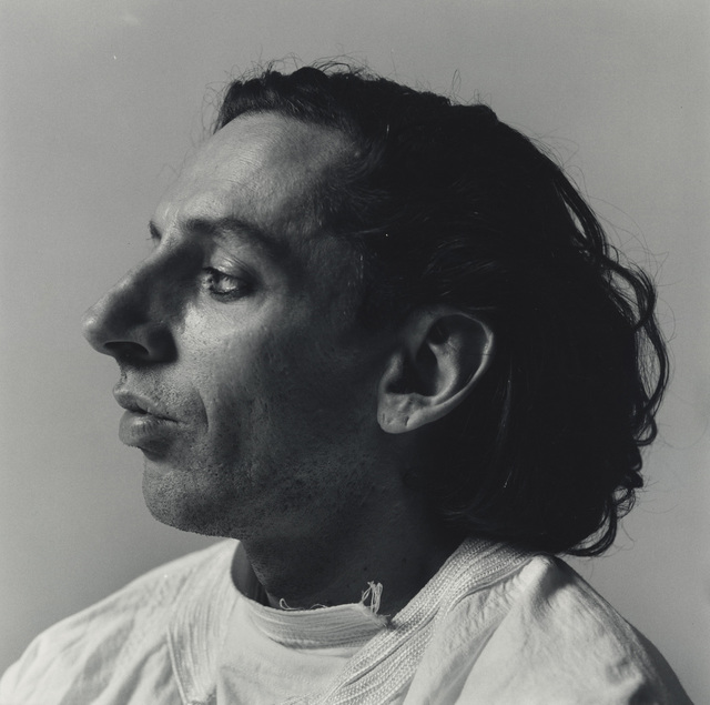, 'John Heys in Profile (White Shirt),' 1985, Albert Merola Gallery