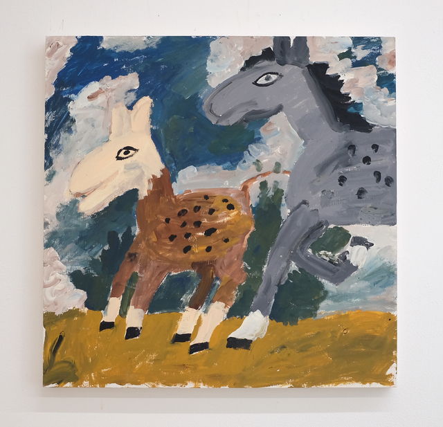 Sophie d'Ansembourg, 'Untitled (horses)', 2018, ALICE Gallery