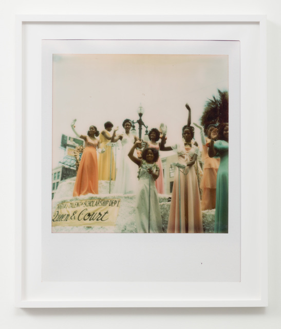 Sadie Barnette, 'Untitled (Queen and Court)', 2018, Charlie James Gallery