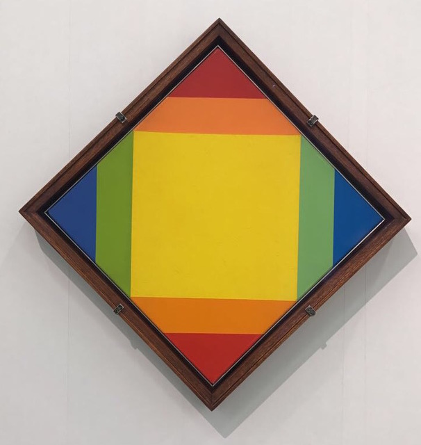 , 'Transcoloration zu rot von gelb,' 1972, Lorenzelli arte