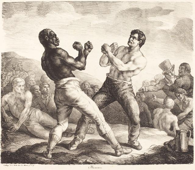 Théodore Géricault, 'Boxeurs (The Boxers),' 1818, National Gallery of Art, Washington, D.C.