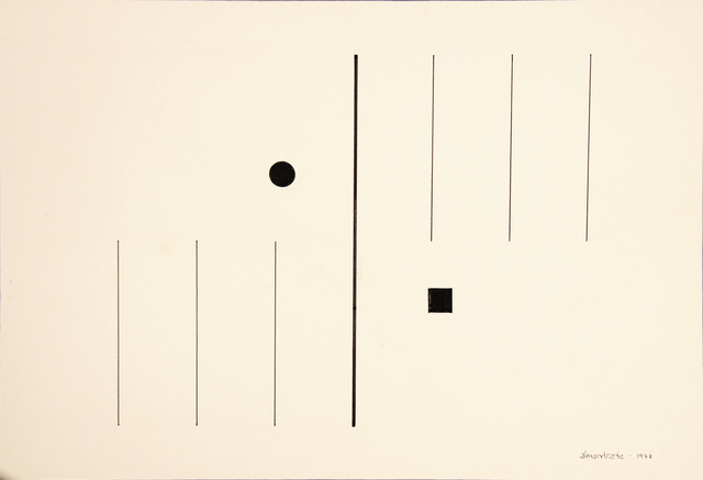 , 'No Title - Visual Poem,' 1977, Roberto Alban Galeria de Arte