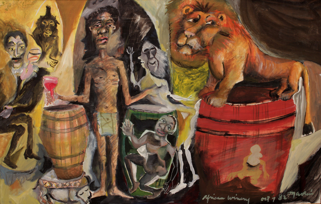 James Martin, 'African Winery', 1982, Foster/White Gallery