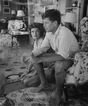 , 'John F. Kennedy and Jackie Kennedy, Hyannis Port,' ca. 1953, Staley-Wise Gallery