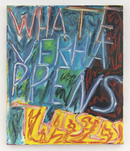 , 'Whatever Happens This Is,' 2018, Freight + Volume