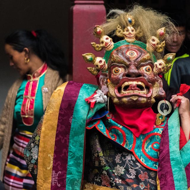 , 'Mani Rimdu Ceremony, Chiwong Monastery, Nepal,' 2017, Peyton Wright Gallery