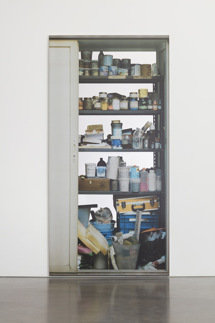 , 'Scaffali - con porta a sinistra (Shelves – with a door to the left),' 2015, Simon Lee Gallery