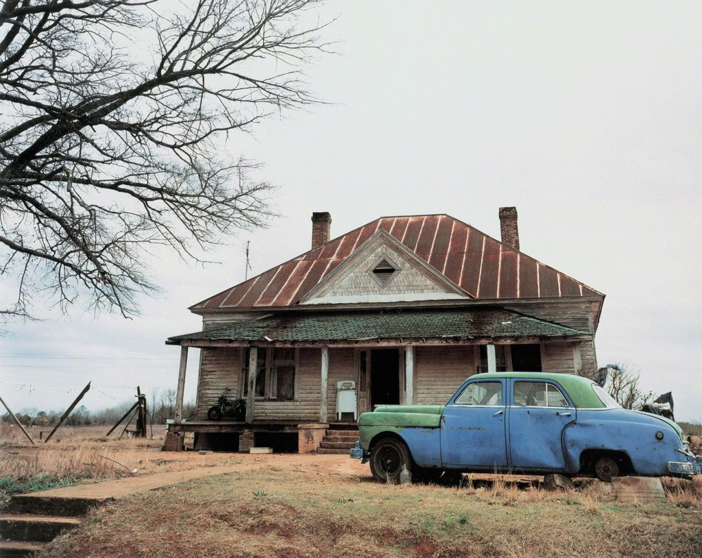 Alabama hale county akron - William Christenberry House And Car Near Akron Alabama 1981