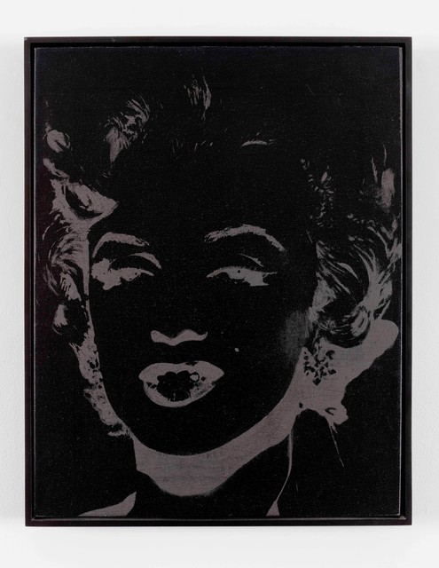 Andy Warhol, 'One Grey Marilyn', 1986, Painting, Silkscreen ink and synthetic polymer on canvas, Galleria Seno