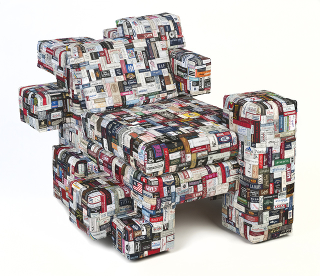 , 'Label Whore Chair 01,' 2012, Industry Gallery