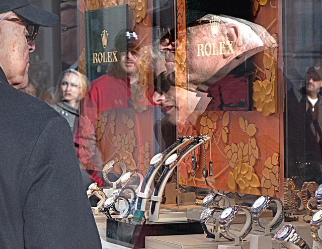 , 'Rolex Window Shopping,' , Soho Photo Gallery