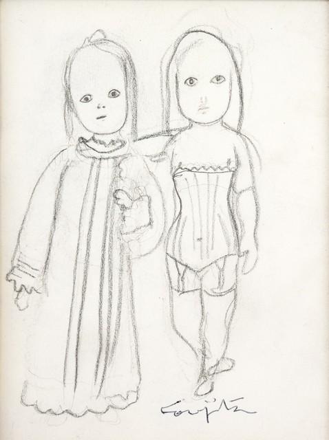 , 'Two Girls,' c.1960, Shukado Gallery