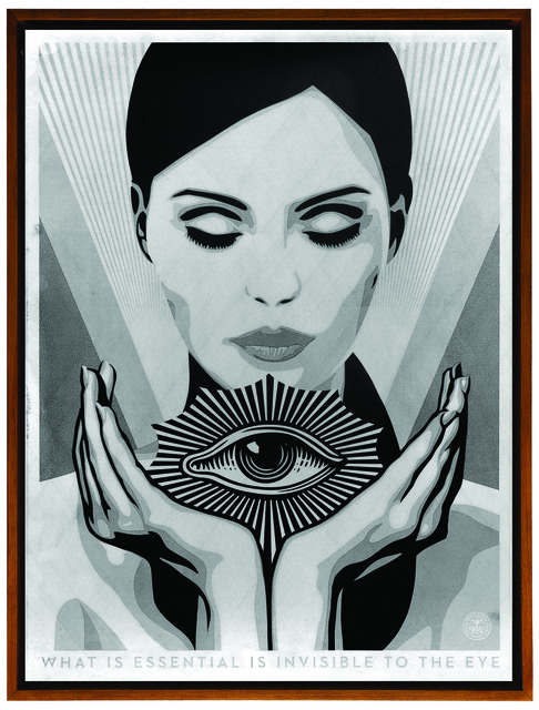 Shepard Fairey (OBEY), 'Invisible to the Eye', 2017, Underdogs Gallery