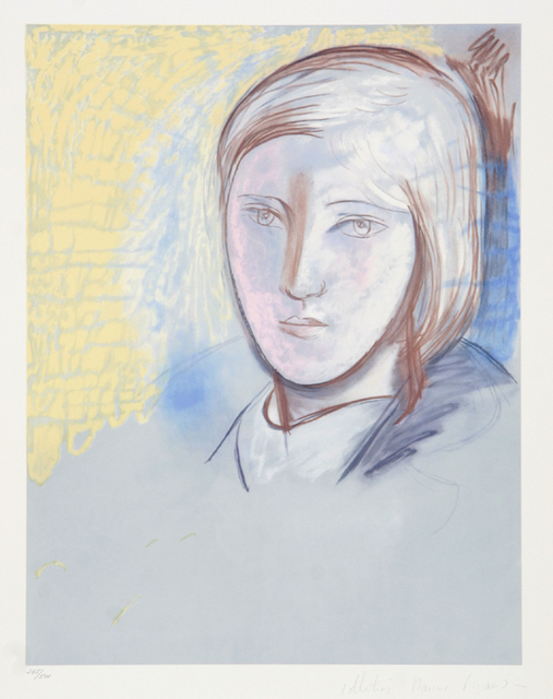 Pablo Picasso, 'Portrait of Marie Therese Walter, 1927', 1979-1982, Print, Lithograph on Arches paper, RoGallery