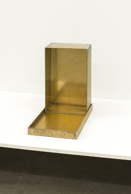, 'Shoebox (Bronze),' 2014, Catriona Jeffries