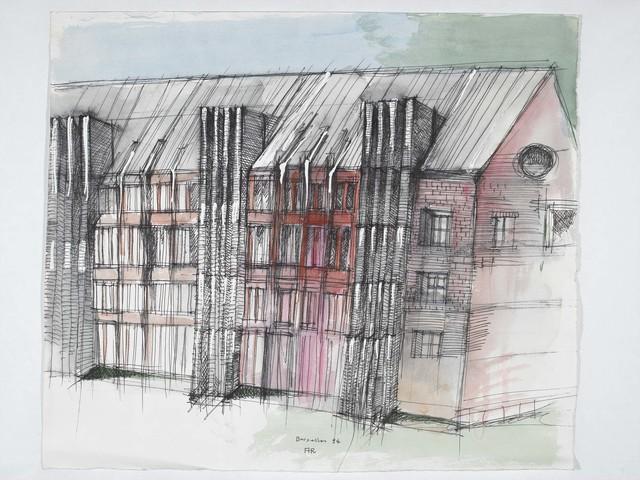 , 'Bruxelles,' 1994, Antonia Jannone Disegni di Architettura