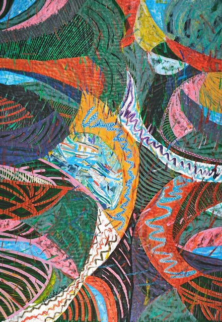 , 'Intense,' 1992, Pacita Abad Art Estate