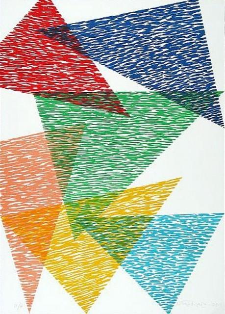 Piero Dorazio, 'Vis-A-Vis', 1991, Kunzt Gallery