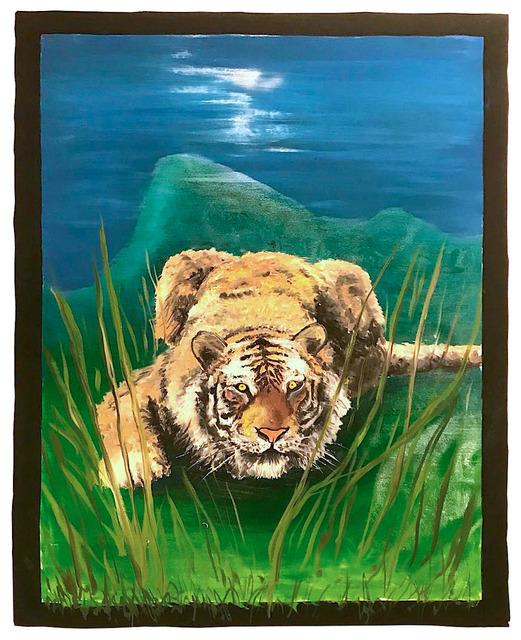 , 'Tiger,' 2018, Mazel Galerie