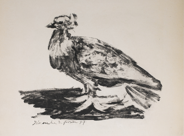 Pablo Picasso, 'Le Gros Pigeon (The Big Pigeon), 1949 Limited edition Lithogrph by Pablo Picasso', 1949, White Cross