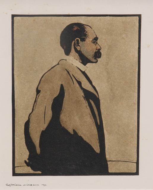 , 'RUDYARD KIPLING,' 1899, Gerrish Fine Art