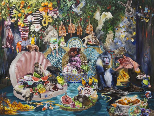, 'Primate Temple,' 2019, Hollis Taggart