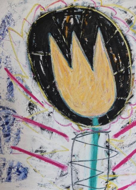 , 'Free Falling Tulip,' 2017, Madelyn Jordon Fine Art