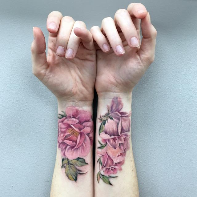 , 'Wild Rose Wrist Tattoo,' 2017, Ghostprint Gallery
