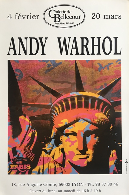 Andy Warhol, 'Statue of Liberty', 1987, MICHALI GALLERY