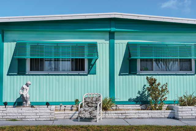 ", 'Retro #9520; Ridgewood Mobile Home, Venice, FL USA; April 2015; 27°6'11"" N 82°25'55"" W,' , Soho Photo Gallery"
