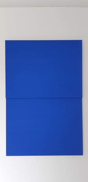 , 'Blue / blue#2,' 2019, Whitehouse Gallery