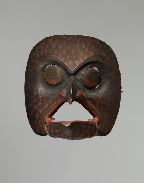 , 'Owl Mask,' ca. 1840-1860, Donald Ellis Gallery