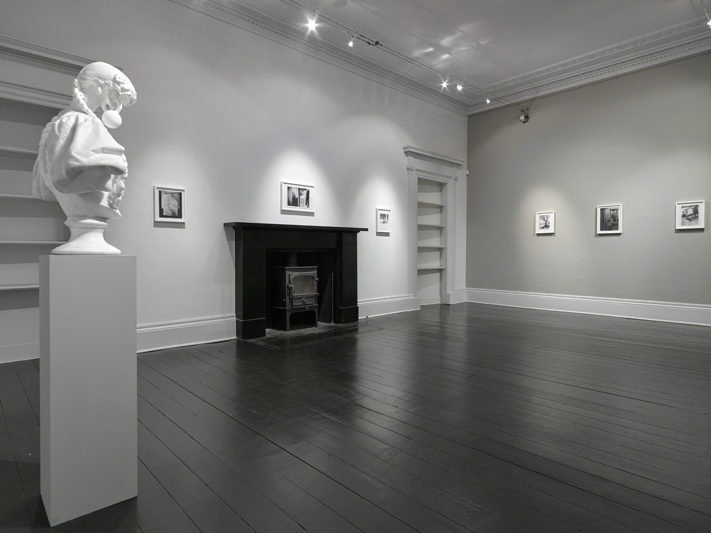 Installation view of the solo exhibition 'Jonathan Owen'. Ingleby Gallery, Edinburgh (July - August 2016)