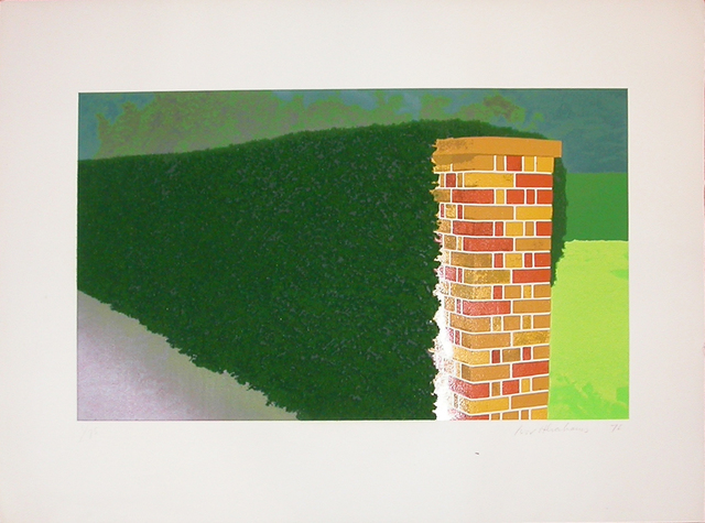 , 'Privacy Plot: Brick Post with Hedge,' , Bernard Jacobson Gallery