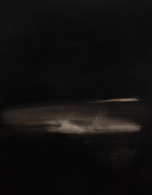 , 'Black Painting V,' 2015, ABC-ARTE