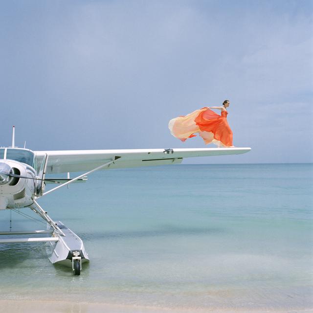 , 'Saori on Sea Plane Wing, Dominican Republic,' 2009, Gilman Contemporary