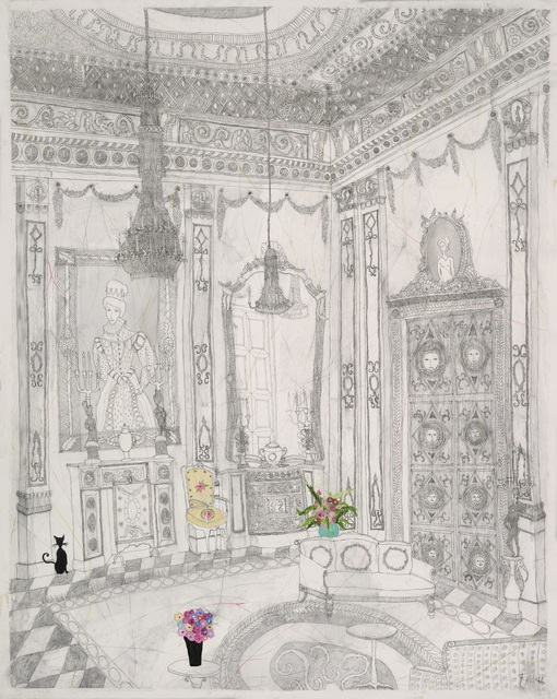 , 'The White Drawing Room,' , Villa del Arte Galleries