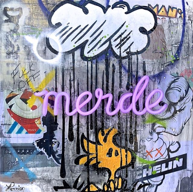 , 'Merde,' 2018, Galerie LeRoyer
