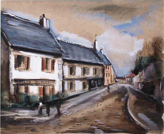 , 'Maison Dupuis - Rue de Village,' , Arts et Autographes