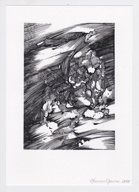 Ann-Marie James, 'After Dürer J', 2018, Karsten Schubert