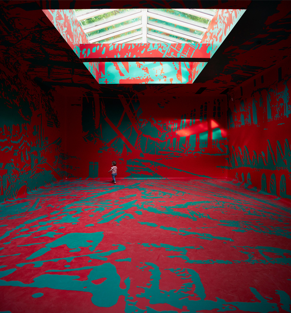 Irina Nakhova, 'The Green Pavilion (Installation view)', 2015, 56th Venice Biennale