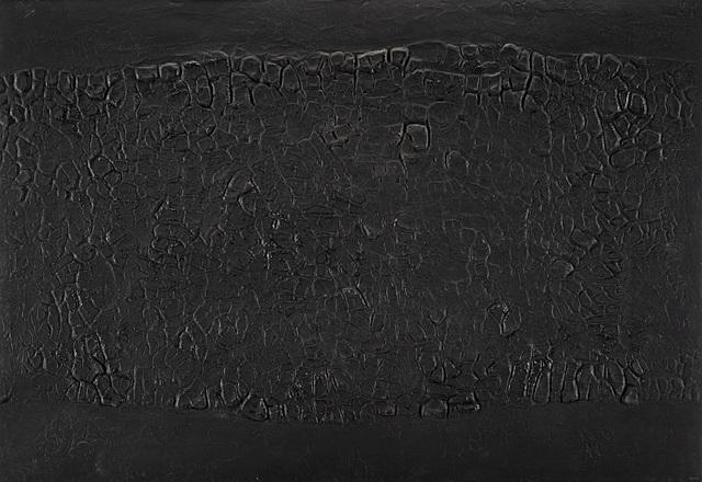 Alberto Burri, 'Cretto Nero A', 1971, Il Ponte