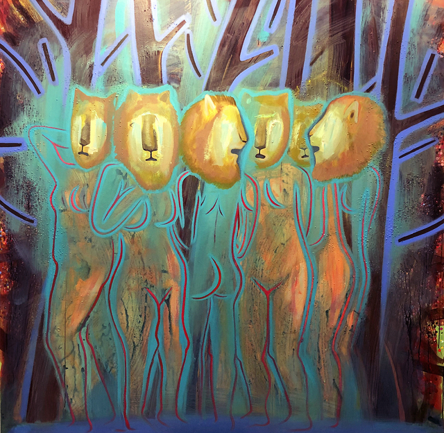 Jennifer Coates, 'Lion headed Bathers', 2018, Park Place Gallery