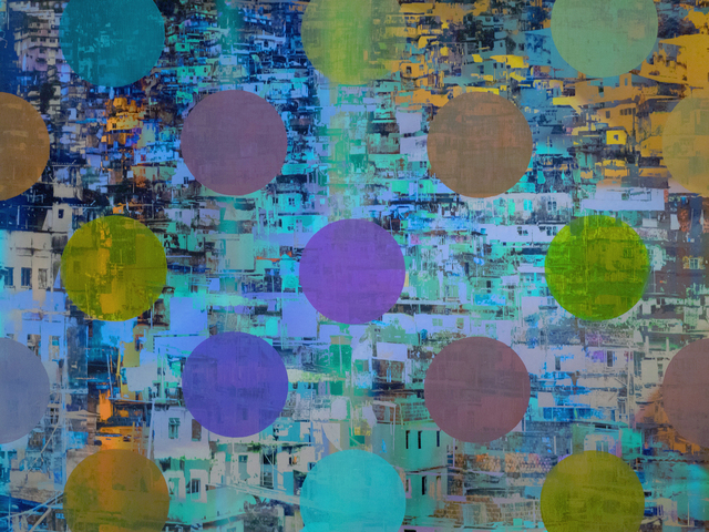 Sarah Nind, 'Pistes et Points - Carnival 1', 2015, Newzones