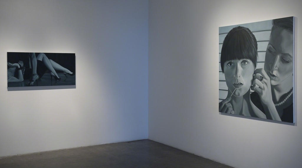 "Installation view of Kelli Vance, ""A Function of Identity"" at Samuel Freeman, June 2011."