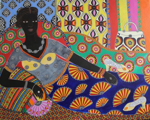 , 'Aissatou,' 2017, Rebecca Hossack Art Gallery