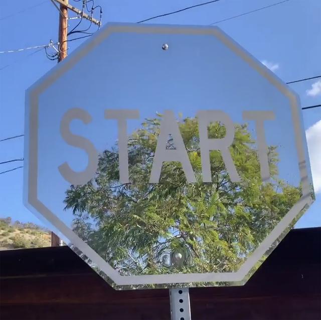 , 'Mirror Start ,' 2018, Wallspace