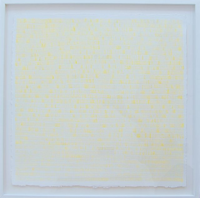 , 'Lining Yellow,' 2014, Reynolds Gallery