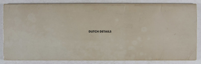 , 'Dutch Details [SIGNED],' 1971, Eric Chaim Kline Bookseller