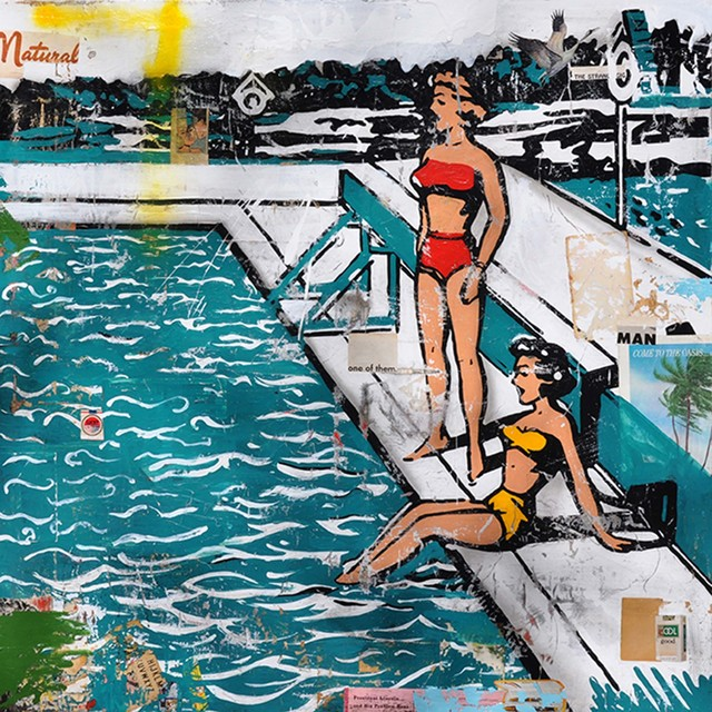 , 'Pool Side,' 170185, Caldwell Snyder Gallery